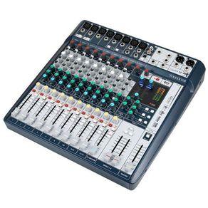 Mesa De Som Soundcraft Signature 12 Usb Canais C/ Efeitos. C017586